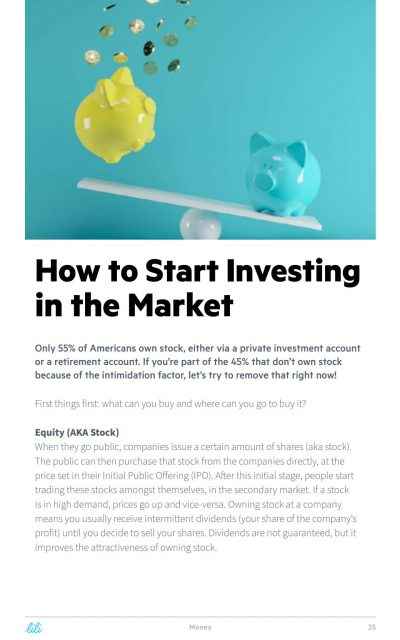 how to start investing in the market